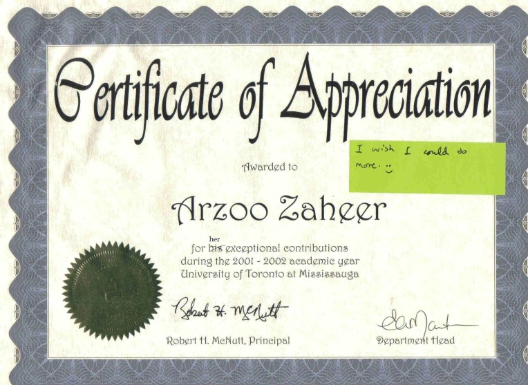 Certificate of Appreciation-2002